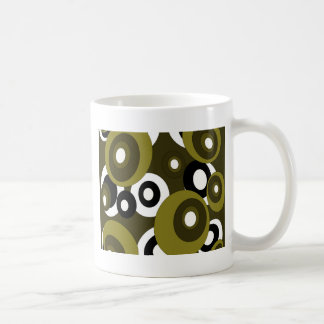 Decorative pattern classic white coffee mug