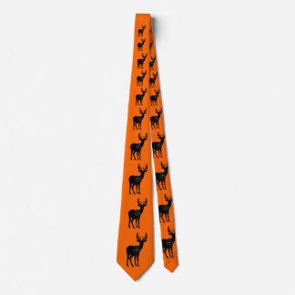 Deer Hunting Tie- Orange Tie