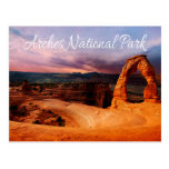 Delicate Arch - Arches National Park, Utah - USA Postcard