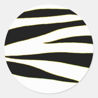 Design 2010-2s1yellow18-6 Black Greenville The MUS Round Sticker