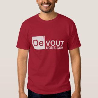 DevoutNone.com Logo Tshirts