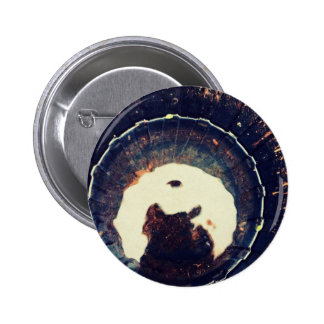 Disturbed waters 2 inch round button