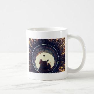 Disturbed waters classic white coffee mug