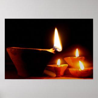 Diwali Light Poster