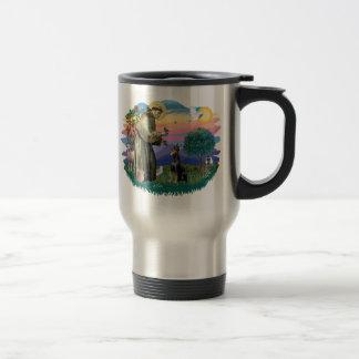 Doberman Pinscher 15 Oz Stainless Steel Travel Mug