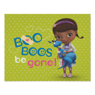Doc McStuffins and Stuffy - Boo Boos Be Gone Poster