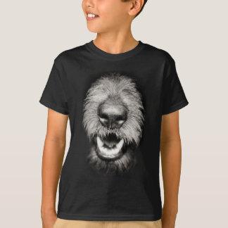 Dog Face Funny Smile Tshirt