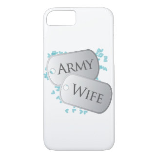 Dog Tags Army Wife iPhone 7 Case