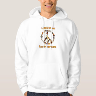 Dogs Of Peace Hoodies