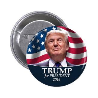Donald Trump Photo - President 2016 2 Inch Round Button