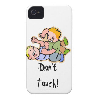 Don't Touch! iPhone 4 Case-Mate Case