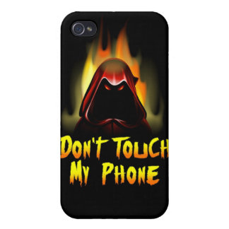 Don't Touch My Phone iPhone 4 Speck Case Covers For iPhone 4