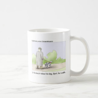 Dr. Roarshach Cartoon Gifts, Tees, & Collectibles Classic White Coffee Mug