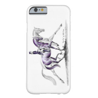 Dressage Horse in Trot Piaffe Barely There iPhone 6 Case