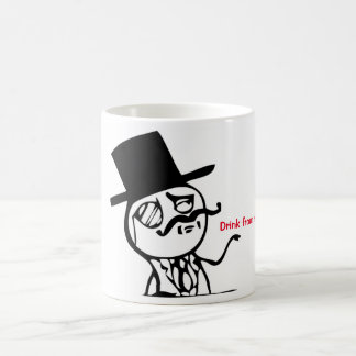 Drink from this mug like a sir!