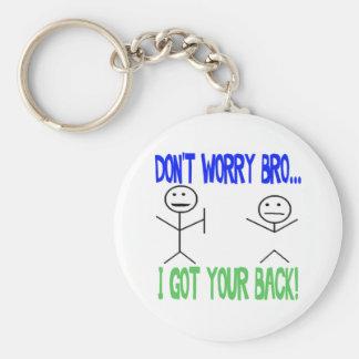 Drôle a obtenu votre dos porte-clé rond