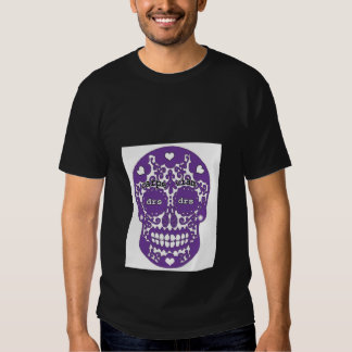 DRS Purple skull Tees