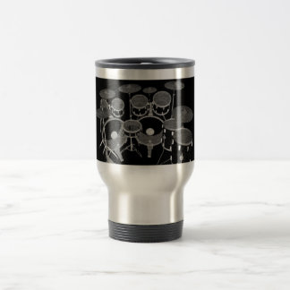 Drum Kit 3D Model: Custom Travel Mug