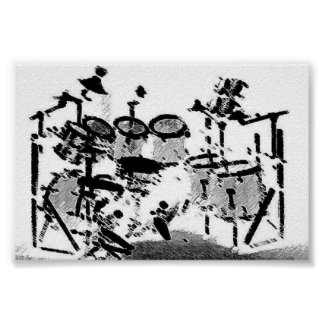Drums Poster