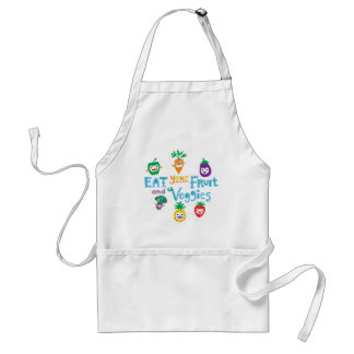 Eat your fruit and Veggies ll Standard Apron