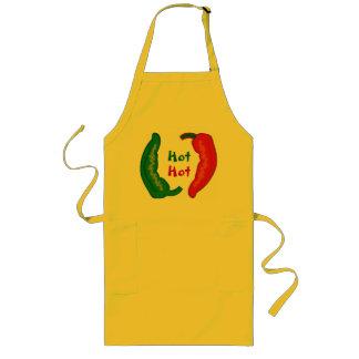 Eat Your Veggies Hot Chili Jalapeño Peppers Apron