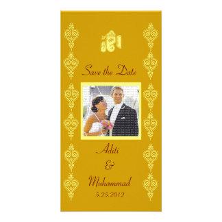 Économies de mariage de Ganesha les cartes photos  Photocarte