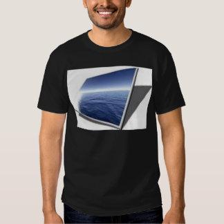 écran/panneau d'affichage à cristaux liquides t shirt