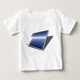 écran/panneau d'affichage à cristaux liquides tee-shirt