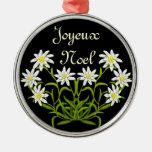 Edelweiss Joyeux Noel Ornament