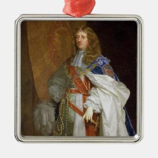 Edouard Montagu, ęr comte du sandwich, c.1660-65 Ornement Carré Argenté