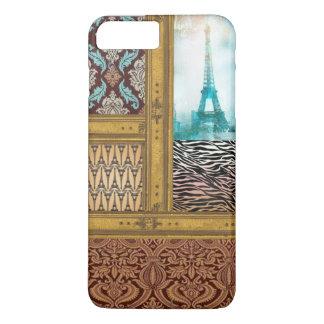 eiffel tower pattern phone case