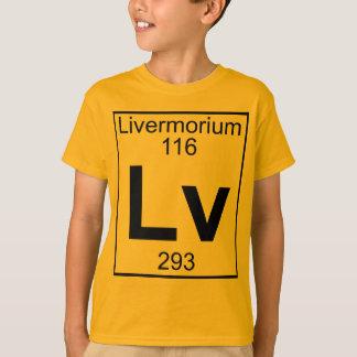 Element 116 - Lv - Livermorium (Full) Tees
