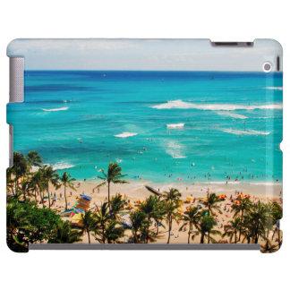 Elevated View Of Waikiki Beach Scene, Honolulu 2