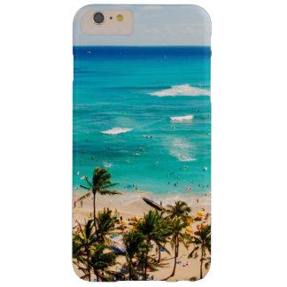 Elevated View Of Waikiki Beach Scene, Honolulu 2 Barely There iPhone 6 Plus Case