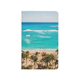 Elevated View Of Waikiki Beach Scene, Honolulu 2 Journal