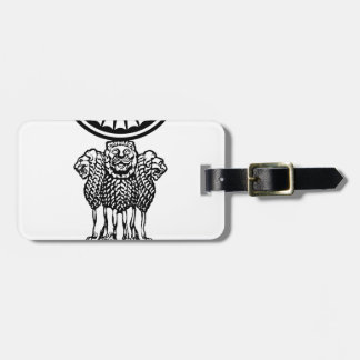 Emblem_of_the_Supreme_Court_of_India Luggage Tag