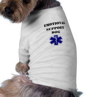 Emotional Support Dog Tank Top T-Shirt All Sizes Doggie Tee
