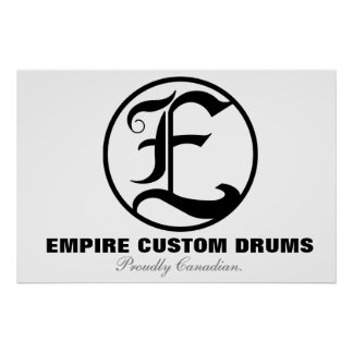 Empire Custom Drums Poster
