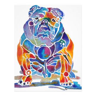 English Bulldog Full Colour Flyer