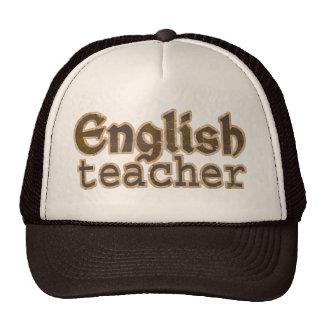 English Teacher Trucker Hat