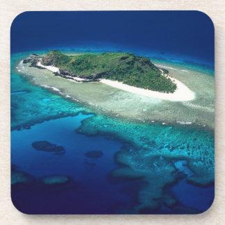 Eori Island, Mamanuca Islands, Fiji - aerial Coasters