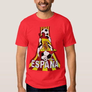 Espana Spain Soccer Fútbol T-shirts