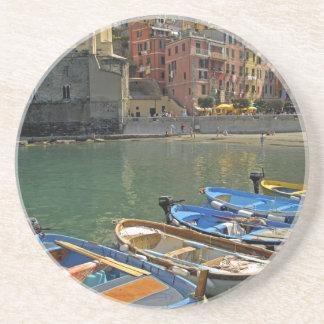 Europe, Italy, Liguria region, Cinque Terre, 2 Drink Coaster