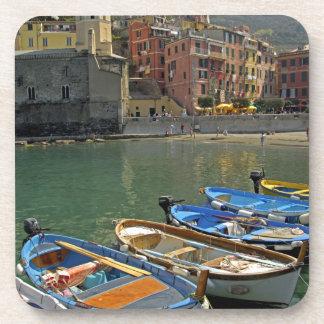 Europe, Italy, Liguria region, Cinque Terre, 2 Drink Coasters