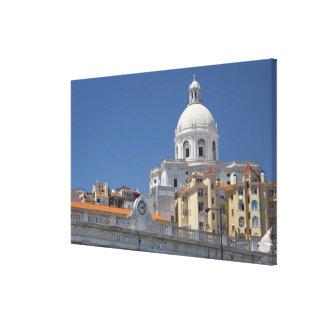Europe, Portugal, Lisbon (aka Lisboa). Military Stretched Canvas Prints