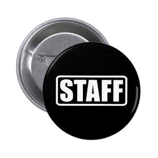 Event Staff - Security Crew 2 Inch Round Button