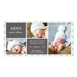 EVERYDAY BABY | BIRTH ANNOUNCEMENT PHOTO CARD TEMPLATE