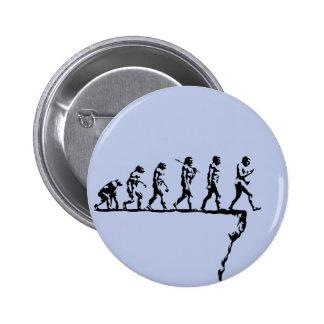 Evolution Social Extinction 2 Inch Round Button