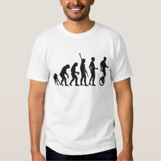 evolution unicycle shirts