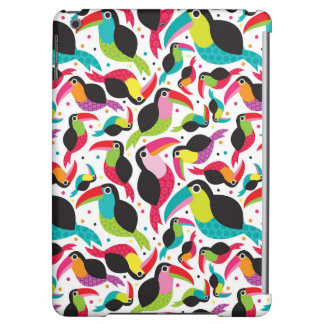 exotic brazil toucan bird background iPad air covers